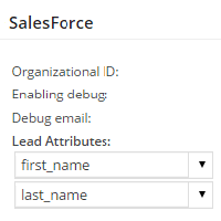 Configure SalesForce Add-On
